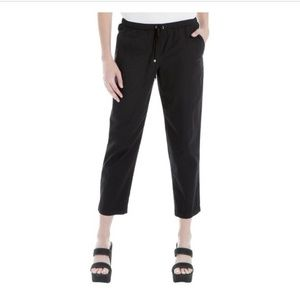 Max Studio London cropped track pants S